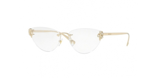 Versace VE1254B VE 1254B 1252 Pale Gold