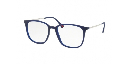 Prada Linea Rossa PS03IV PS 03IV U631O1 Transparent Blue Rubber