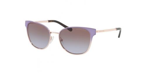 Michael Kors TIA MK1022 118368 Lavender Gradient Rose Gold Pale Tone