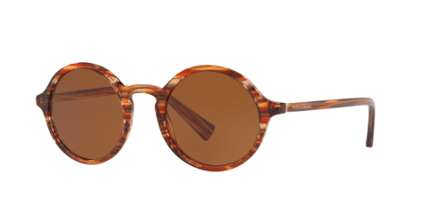 Dolce & Gabbana Dolce & Gabbana DG4342 318973 Striped Orange