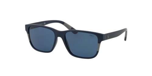 Polo Ralph Lauren PH4137 559080 Matte Blue/Grey