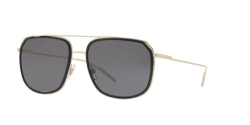 Dolce & Gabbana DG2165 488/81 Black/Pale Gold Polarised