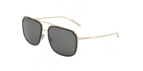 Dolce & Gabbana DG2165 488/81 Black/Pale Gold Polarised