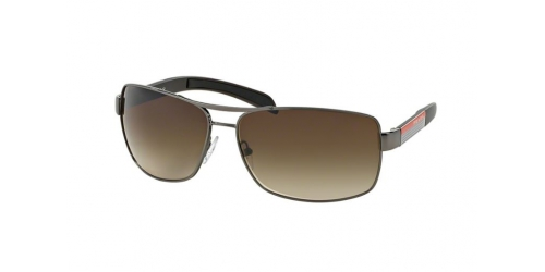 Prada Linea Rossa PS54IS PS 54IS 5AV6S1 Gunmetal