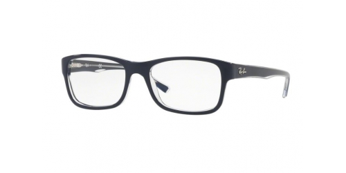 Ray-Ban RX5268 5739 Top Blue on Transparent