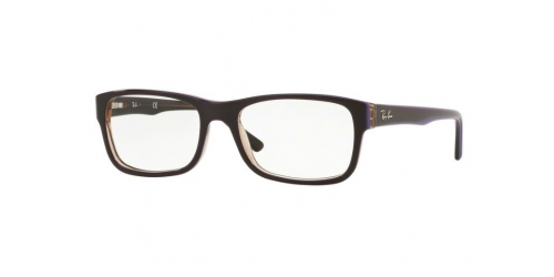 Ray-Ban Ray-Ban RX5268 5816 Transparent Brown on Violet