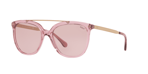 Polo Ralph Lauren PH4135 568684 Transparent Dark Pink