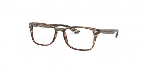 Ray-Ban RX5228M RX 5228M 5837 Grey Gradient Brown