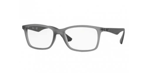 Ray-Ban RX7047 5482 Matte Transparent Grey