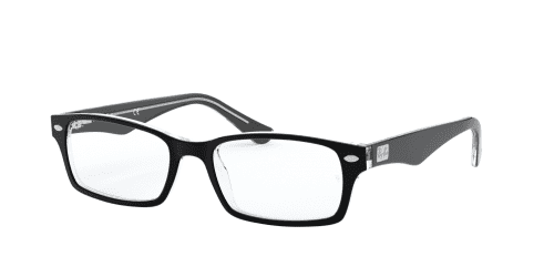 Ray-Ban Ray-Ban RX5206 2034 Top Black on Transparent