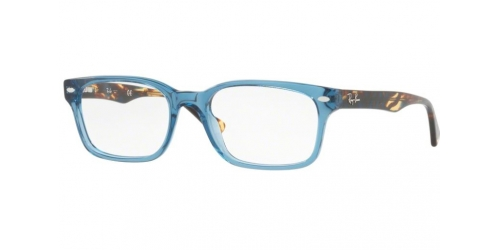 1688b7d2c6 Ray-Ban RX5286 8024 Shiny Transparent Blue