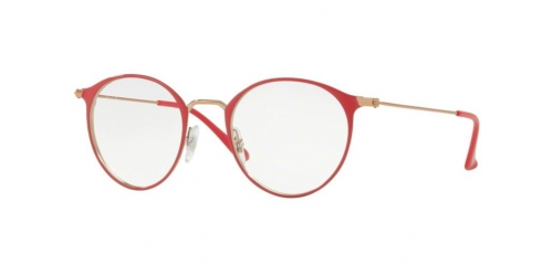 Ray-Ban RX6378 2974 Copper Top on Bordeaux