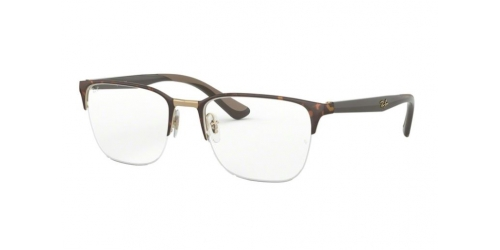 Ray-Ban RX6428 3001 Pink Gold on Top Havana