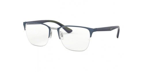 Ray-Ban RX6428 3006 Gunmetal on Top Matte Blue