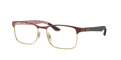 Ray-Ban RX8416 3015 Gold on top Matte Bordeaux