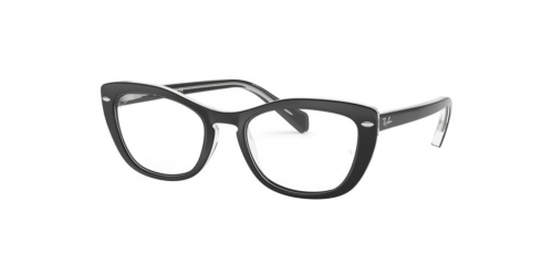 Ray-Ban RX5366 2034 Top Black on Transparent