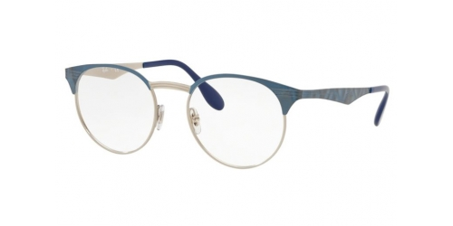 Ray-Ban RX6406 3025 Silver on Top Blue