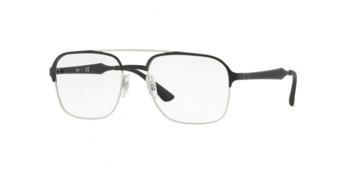 Ray-Ban RX6404 2861 Silver Top Black