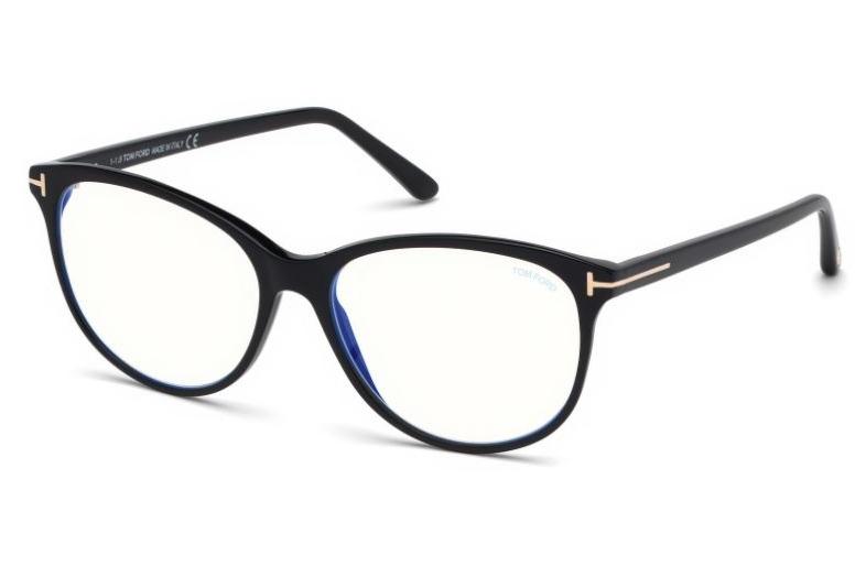 Authentic Tom Ford FT 5545 B 052 Dark Havana Eyeglasses