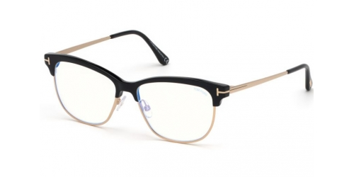 Tom Ford TF5546-B Blue Control TF 5546-B 001 Shiny Black