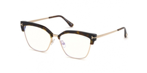 Tom Ford TF5547-B Blue Control TF 5547-B 052 Dark Havana