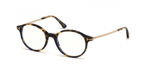 Tom Ford TF5554-B Blue Control TF 5554-B 055 Coloured Havana