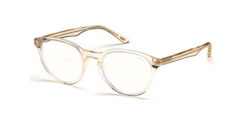 Tom Ford TF5556-B Blue Control TF 5556-B 039 Shiny Yellow