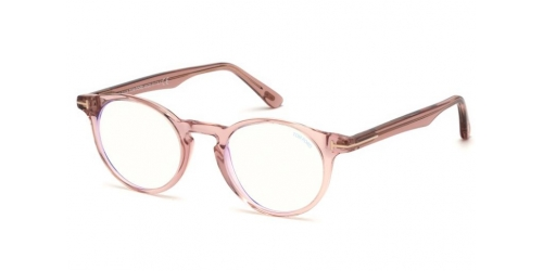 Tom Ford TF5557-B Blue Control TF 5557-B 072 Shiny Pink