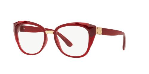 Dolce & Gabbana DG5041 1551 Transparent Bordeaux
