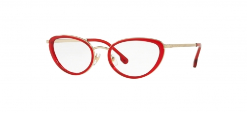 Versace VE1258 1439 Transparent Red/Pale Gold