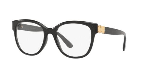 Dolce & Gabbana STONES & LOGO PLAQUE DG5040 501 Black