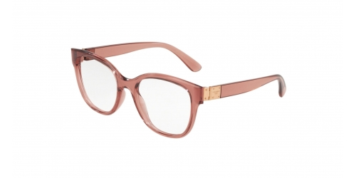 416416bc0793 Dolce   Gabbana STONES   LOGO PLAQUE DG5040 3148 Transparent Pink