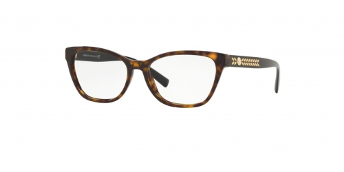 Versace MEDUSA LEAVES VE3265 108 Dark Havana