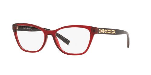 Versace Versace MEDUSA LEAVES VE3265 388 Transparent Red