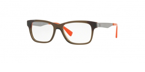 Versace MEDUSA COLOR BLOCK VE3245 5235 Transparent Green/Orange
