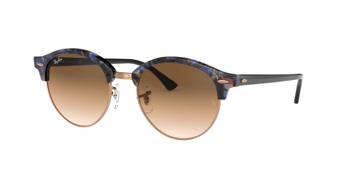 Ray-Ban Ray-Ban RB4246 Clubround 125651 Spotted Brown/Blue