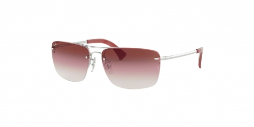 RB3607 RB 3607 91280T Silver/Bordeaux
