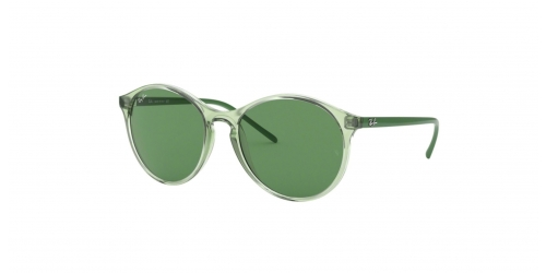 Ray-Ban RB4371 6402/2 Transparent Green