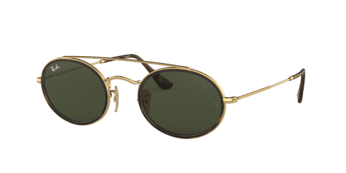 Ray-Ban Ray-Ban OVAL DOUBLE BRIDGE RB3847N RB 3847N 912131 Gold