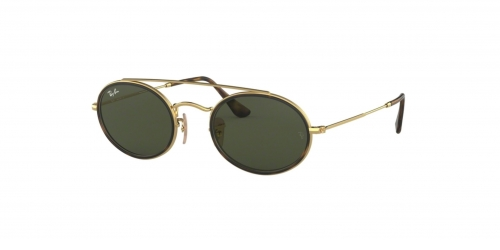 Ray-Ban OVAL DOUBLE BRIDGE RB3847N RB 3847N 912131 Gold