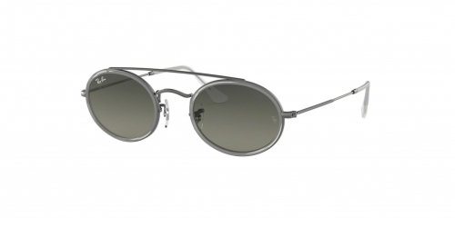 Ray-Ban OVAL DOUBLE BRIDGE RB3847N RB 3847N 004/71 Gunmetal