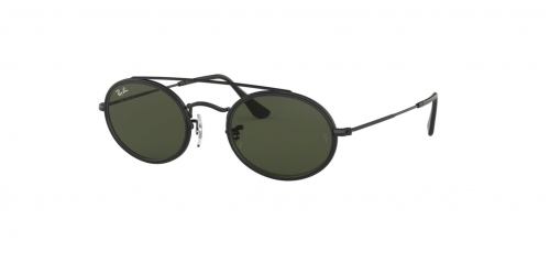 Ray-Ban OVAL DOUBLE BRIDGE RB3847N RB 3847N 912031 Black