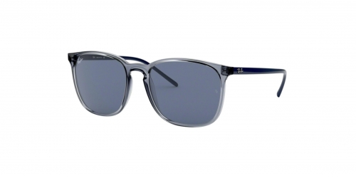 Ray-Ban RB4387 639980 Transparent Blue