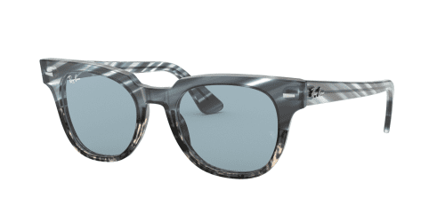 Ray-Ban METEOR RB2168 125262 Blue Gradient Grey Striped