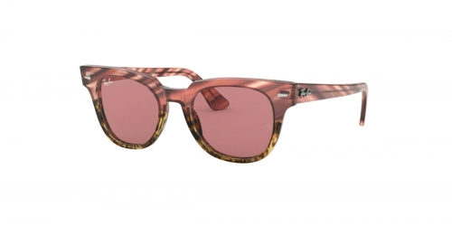 Ray-Ban METEOR RB2168 1253U0 Pink Gradient Beige Striped