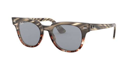 Ray-Ban Ray-Ban METEOR RB2168 1254Y5 Grey Gradient Brown Striped