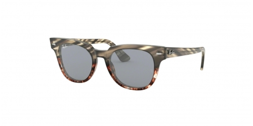 Ray-Ban METEOR RB2168 1254Y5 Grey Gradient Brown Striped