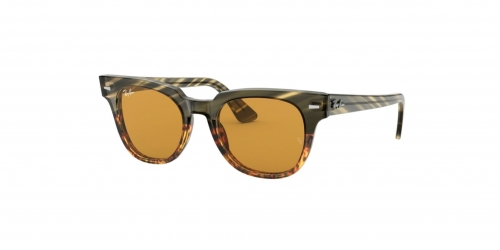 Ray-Ban METEOR RB2168 12683L Green Gradient Brown Striped
