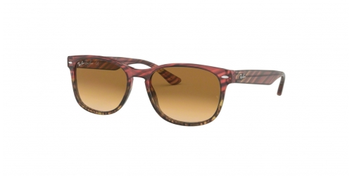 Ray-Ban RB2184 125351 Pink Gradient Beige Striped