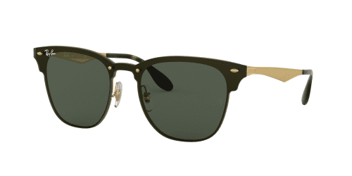 Ray-Ban Ray-Ban BLAZE CLUBMASTER RB3576N RB 3576N 043/71 Brushed Gold